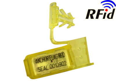 Wire security plastic seal with RFID TAG ANCHORFLAG